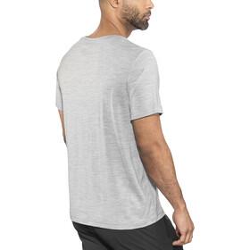 Bergans Oslo Wool Bluzka z krótkim rękawem Mężczyźni, grey melange
